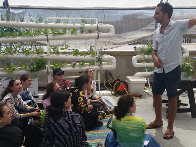Urban agriculture tour in Tel Aviv