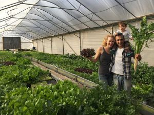 Buy local! Eat fresh hydroponic vegetables